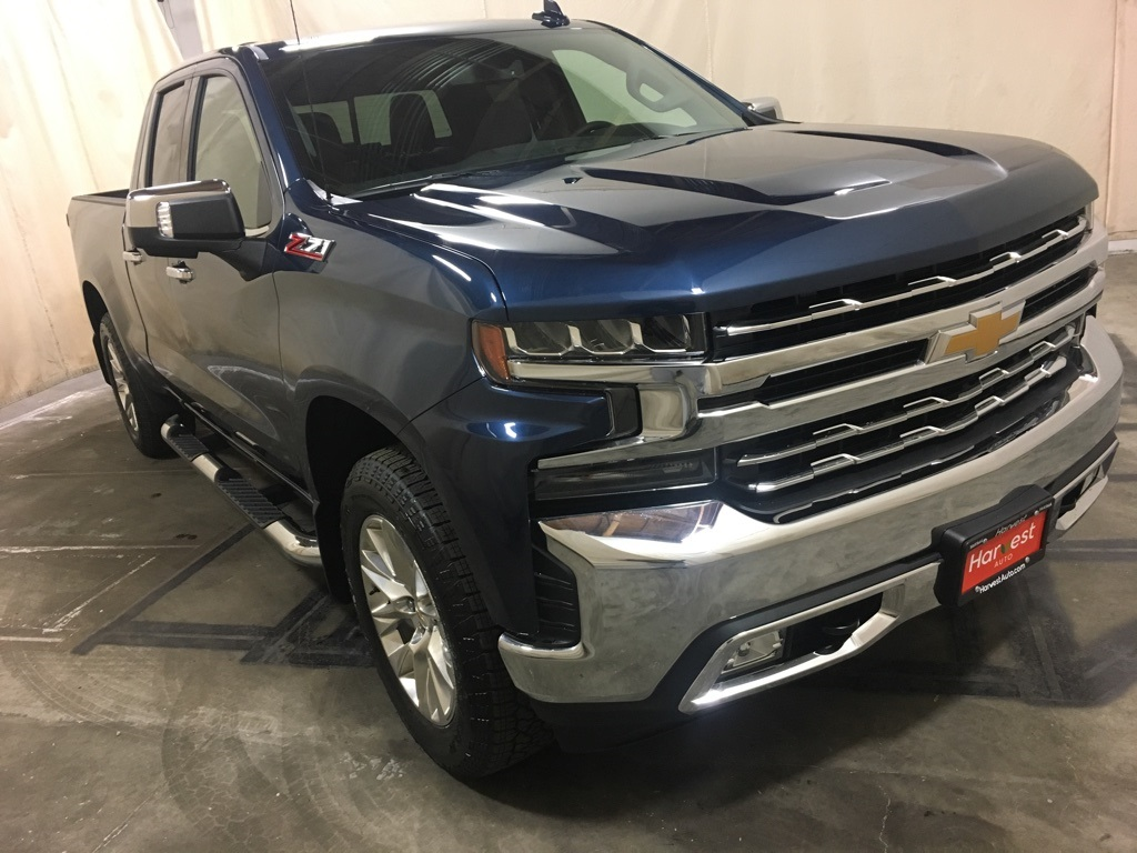 New 2019 Chevrolet Silverado 1500 Ltz Double Cab In Yakima 228574