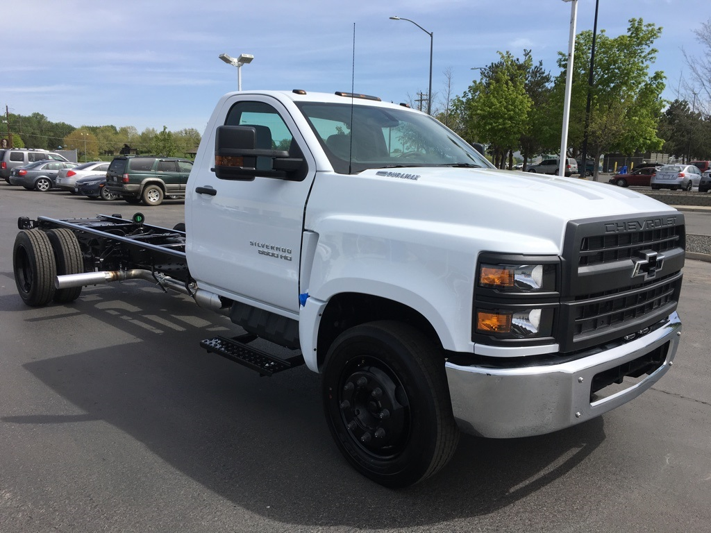 New 2019 Chevrolet Silverado 5500 Work Truck