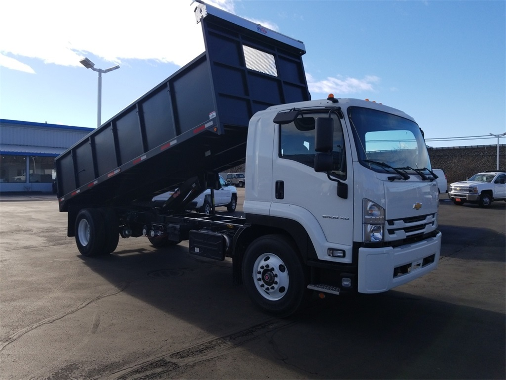 New 2019 Chevrolet LCF 6500 20' Dumping Flat Bed