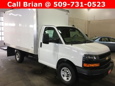 2018 Chevrolet Express 3500 10' SUPREME CARGO BOX