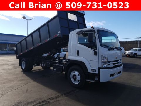 2019 Chevrolet LCF 6500 20' Dumping Flat Bed