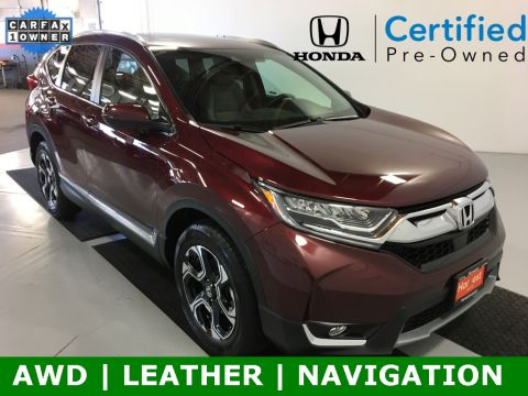 Certified Pre-Owned 2019 Honda CR-V Touring With Navigation & AWD